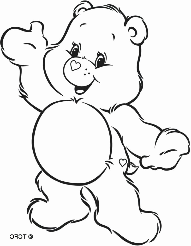 Care Bear Coloring Pages Bear Coloring Pages Care Bears Mst Dn Me