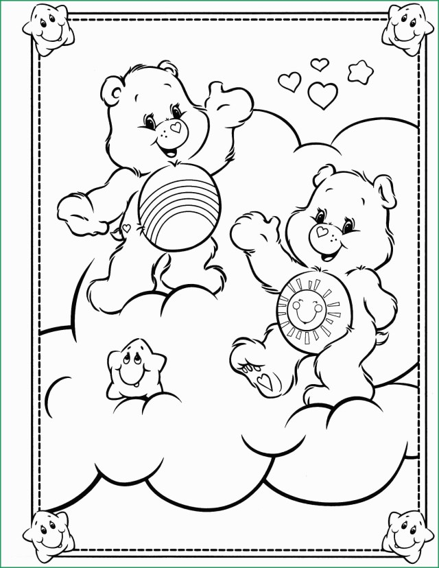 Care Bear Coloring Pages Care Bear Coloring Pages Great Care Bears 12 Coloringcolor