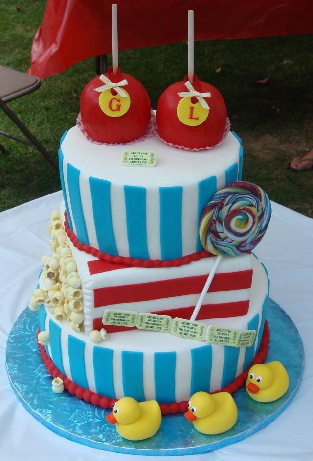 Carnival Birthday Cake Carnival Birthday Cakes