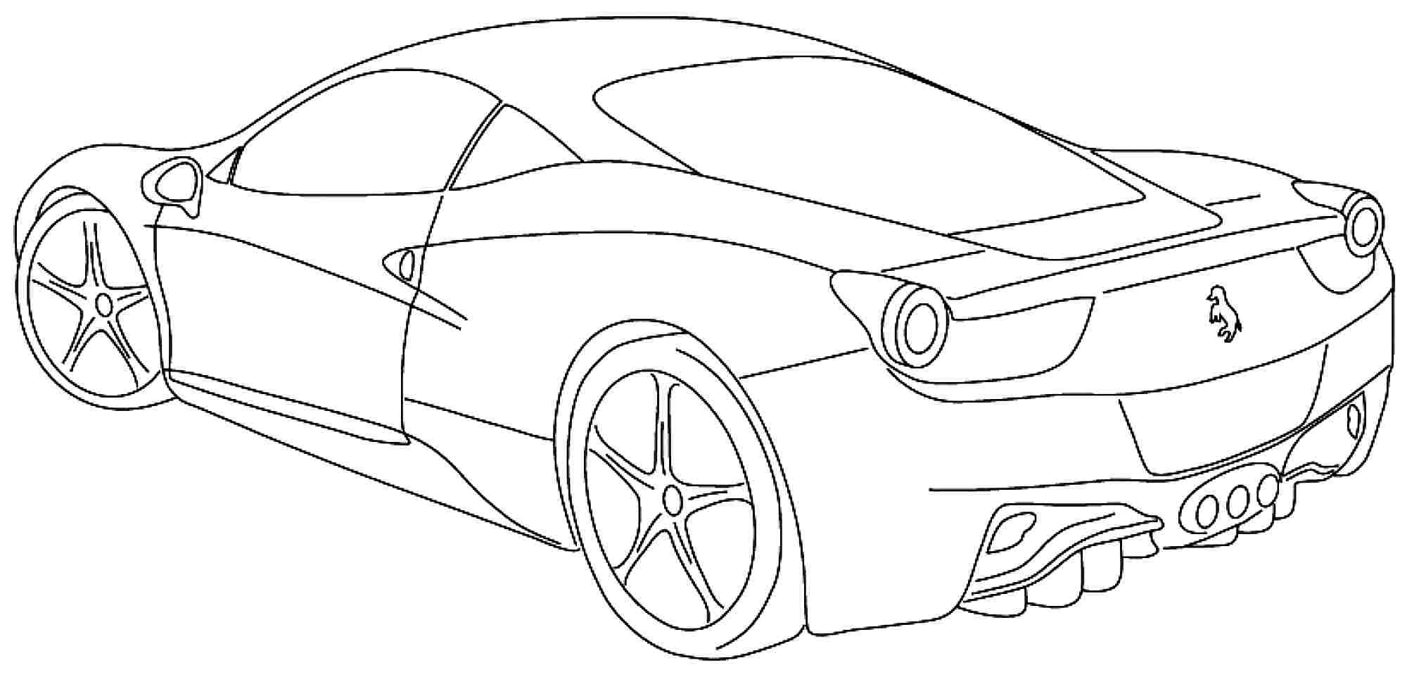 - Cars Coloring Pages 25 Coloring Pages Sports Cars Download Coloring Sheets  - Birijus.com