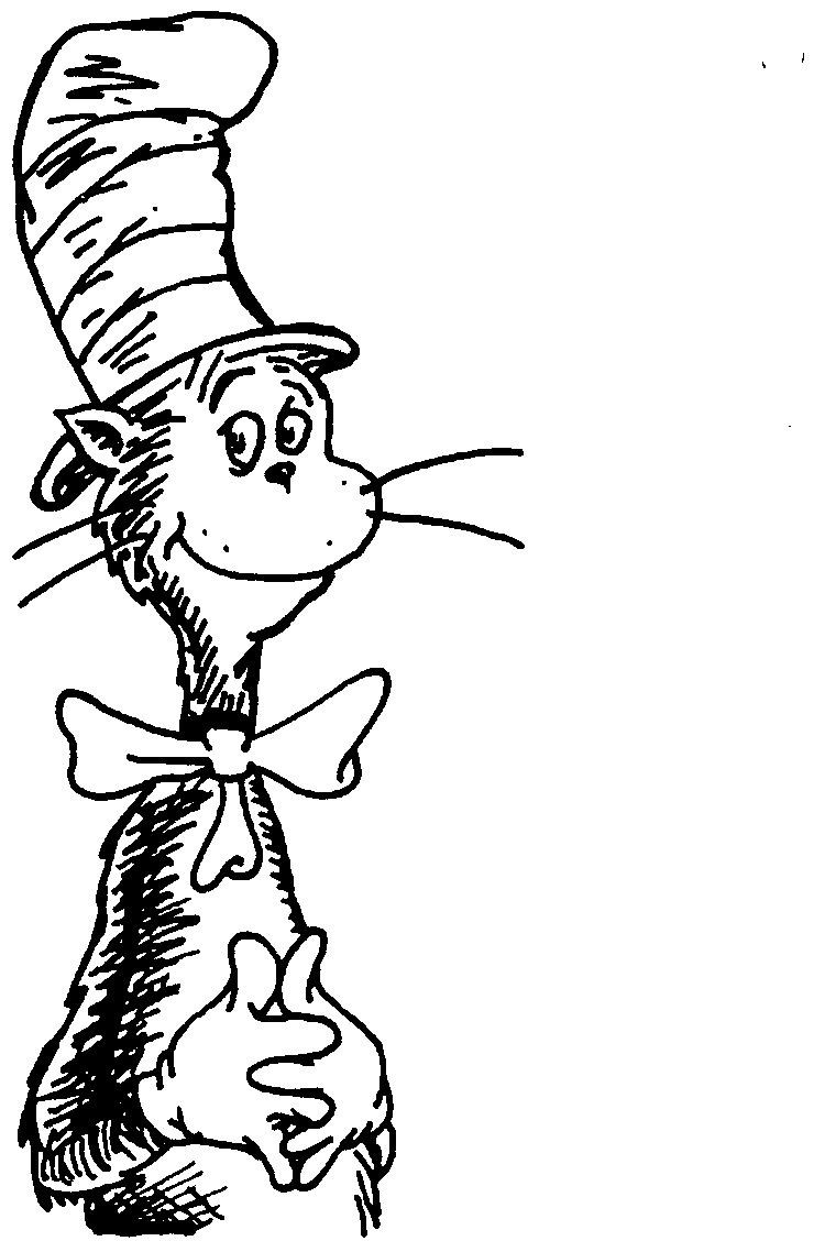 Cat In The Hat Coloring Page Cat And The Hat Coloring Pages 253947 Cat Hat Cl Fresh The Cat In Birijus Com