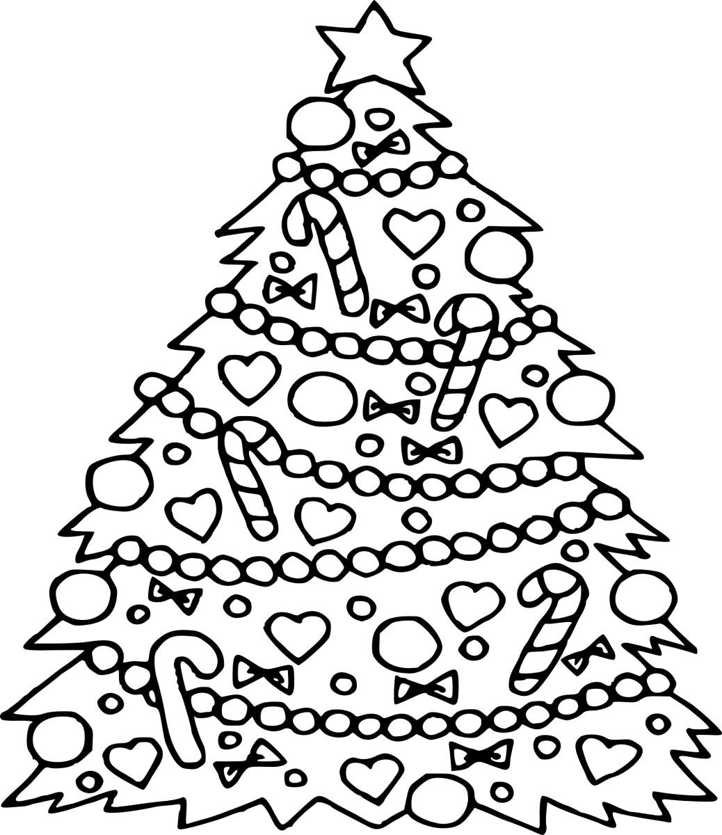 Christmas Tree Coloring Page Free Christmas Tree Coloring Pages For Kids At Getcolorings Com Free