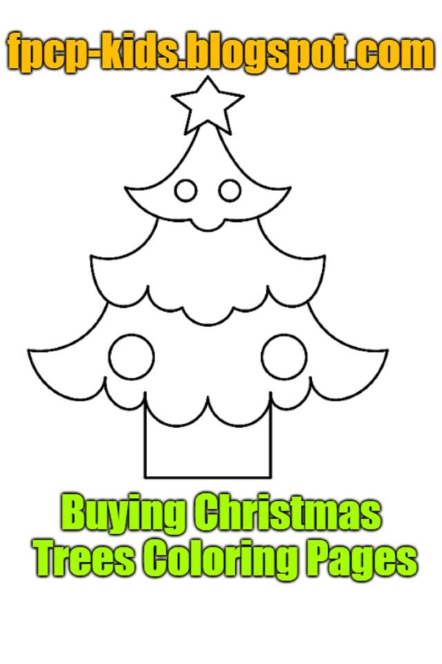 Christmas Tree Coloring Page Free Season Trees Coloring Pages Inspirational Buying Christmas Trees