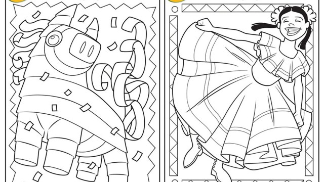 Cinco De Mayo Coloring Pages Cinco De Mayo Coloring Pages For Girls Sweet Draw Print Pleasing
