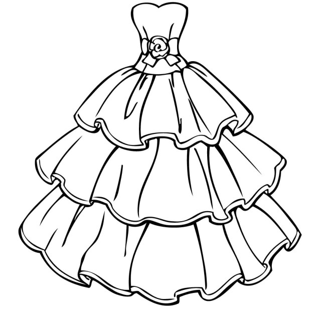 Clothes Coloring Pages Summer Clothes Coloring Pages Elegant Dress Coloring Pages New