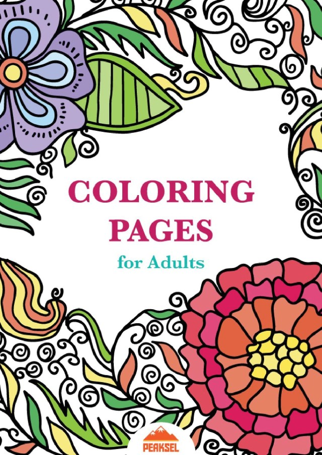 Coloring Pages For Adults Pdf Fileprintable Coloring Pages For Adults Free Adult Coloring Book