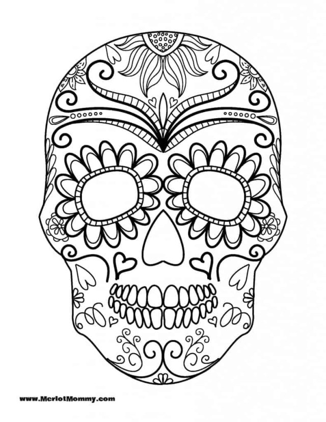 Coloring Pages For Halloween Free Halloween Coloring Pages For Adults Kids Happiness Is Homemade
