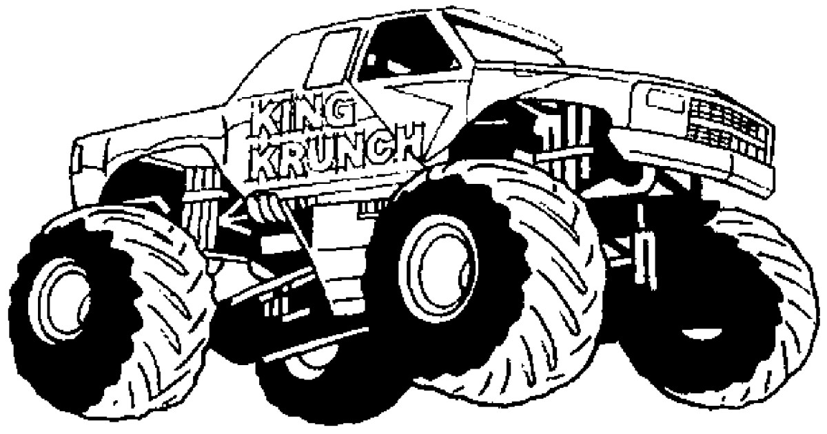 Police monster truck coloring pages, video colors vehicles, police ... | 630x1200