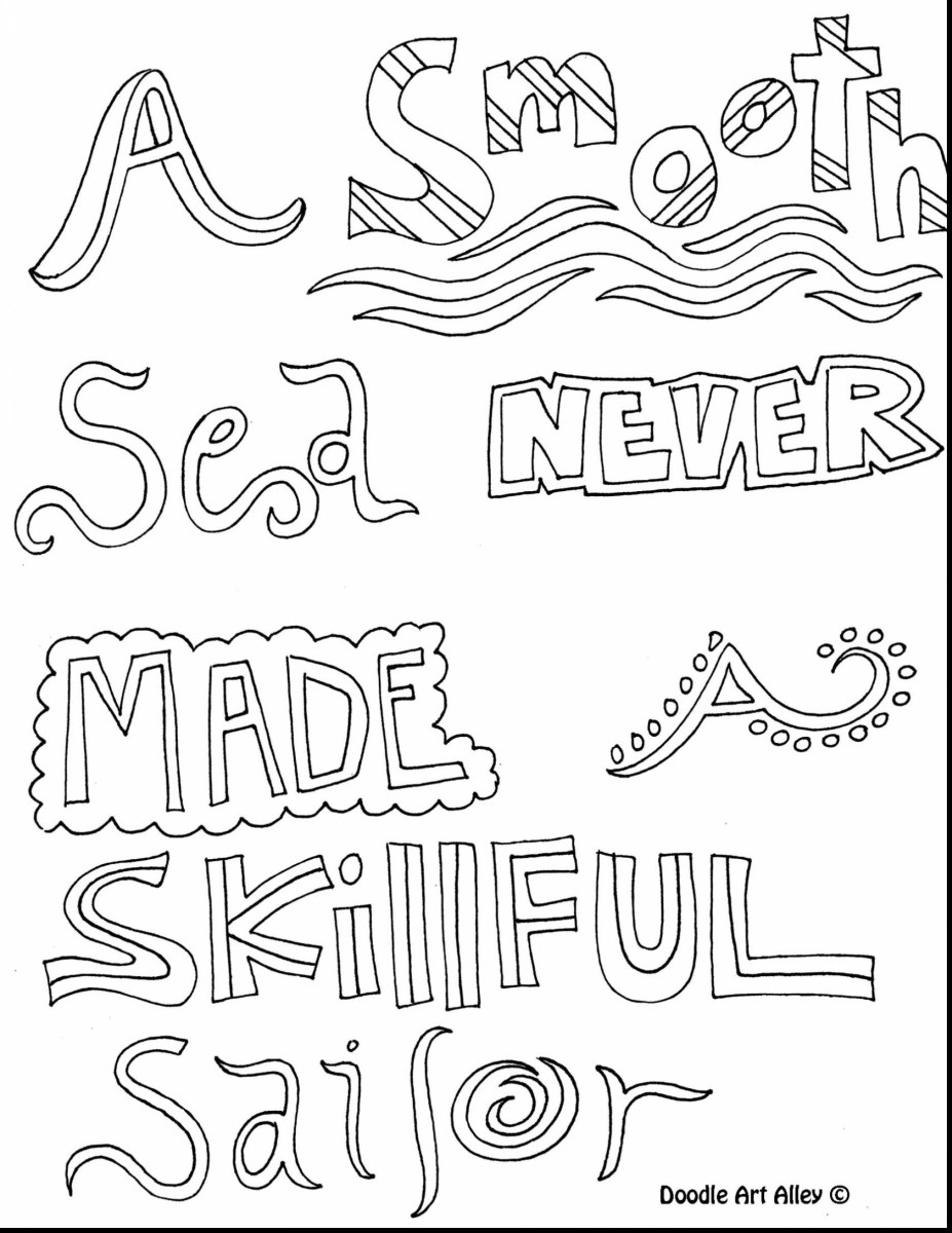 Coloring Pages Quotes 23 Printable Inspirational Quotes