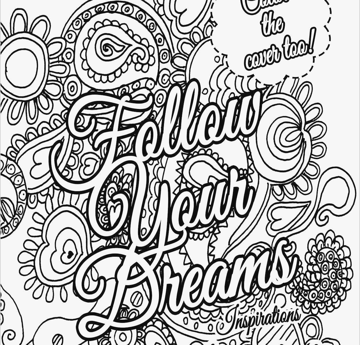 graphic regarding Free Printable Adult Coloring Pages Quotes known as Coloring Web pages Quotations Get pleasure from Grows Colouring Artwork Grownup