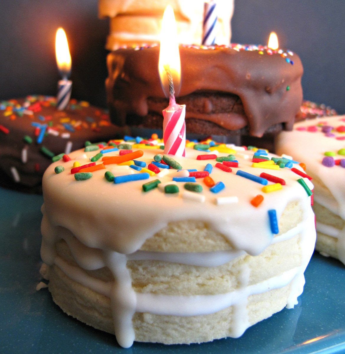 Marvelous Cookie Birthday Cake Birthday Cake Surprise Cookies The Monday Box Funny Birthday Cards Online Amentibdeldamsfinfo