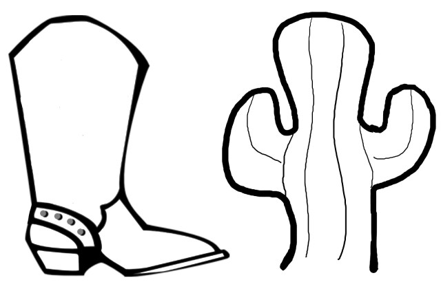 Cowboy Boot Coloring Page Free Drawings Of Cowboy Boots Download Free Clip Art Free Clip Art