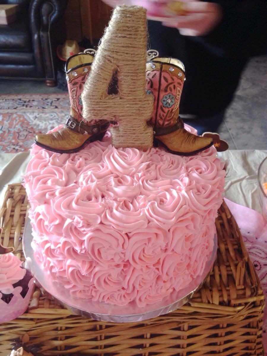 Superb Cowgirl Birthday Cakes Pinkcowgirl Birthday Cake My Cake Art Funny Birthday Cards Online Fluifree Goldxyz