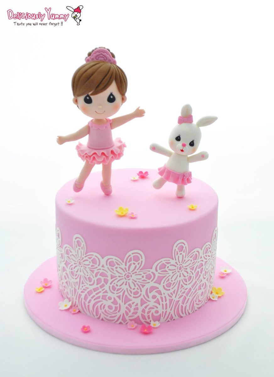 Terrific Cute Birthday Cakes For Girl 10 Totally Gorgeous Birthday Cakes Personalised Birthday Cards Veneteletsinfo
