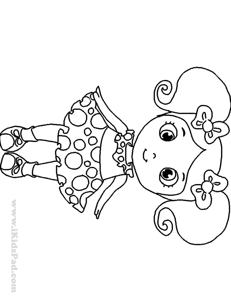 Cute Girl Coloring Pages Boo Cute Girl Coloring Pages For Girls Only Best Free Coloring Birijus Com
