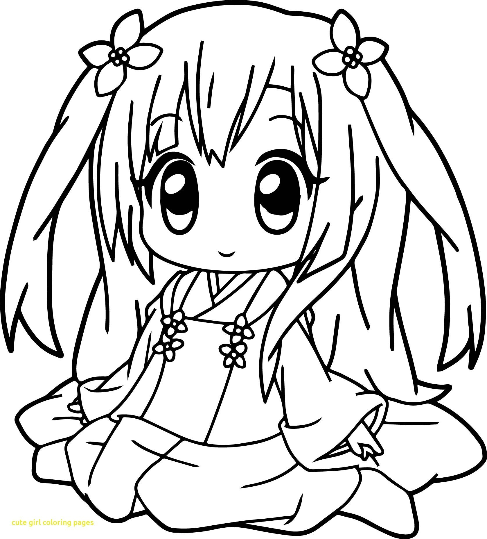 - Cute Girl Coloring Pages Cute Anime Color Pages To Print In Girl
