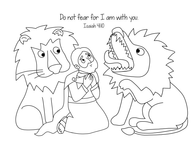 Daniel And The Lions Den Coloring Page Valuable Daniel In The Lions Den Coloring Page Lion S Pages For And