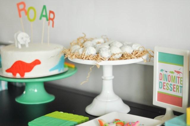 Dinosaur Birthday Cake Bodhis Dinosaur Themed Third Birthday Party Dessert Table