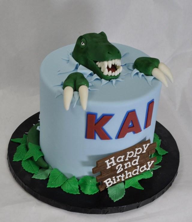 Dinosaur Birthday Cake Dinosaur Birthday Cake Jenny Wenny Flickr
