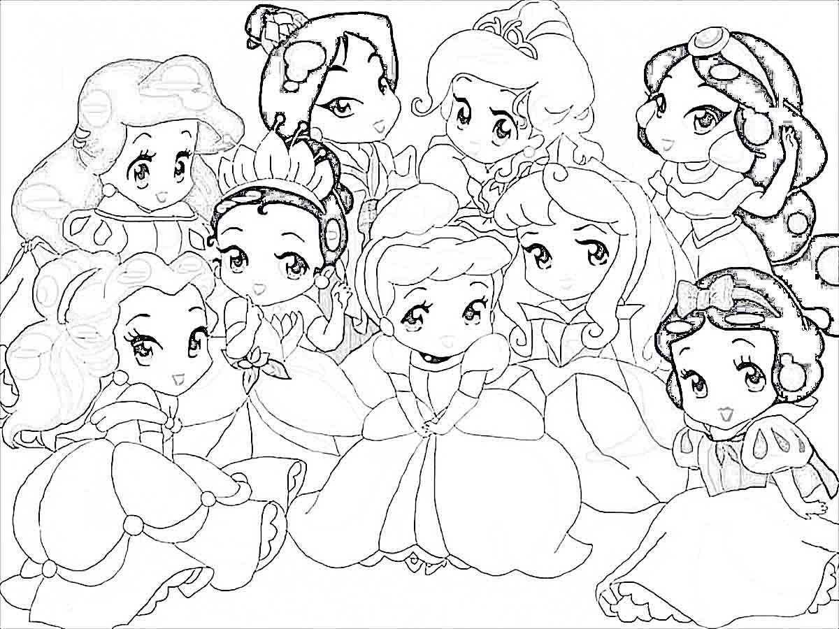 Disney Coloring Pages For Your Little Ones   900x1200