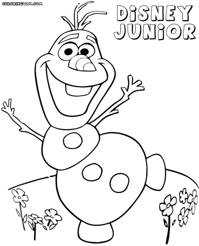 Disney Junior Coloring Pages Disney Junior Coloring Pages 15 Linearts For Free Coloring On