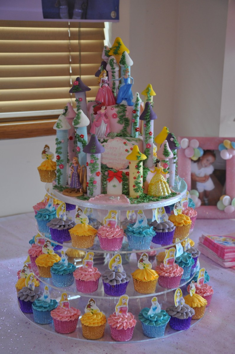 Fabulous Disney Princess Birthday Cakes Princess Castle Birthday Cake Personalised Birthday Cards Paralily Jamesorg