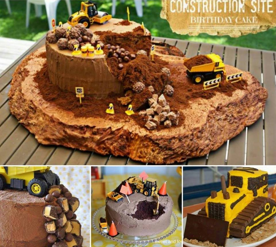 Groovy Diy Birthday Cakes Diy Construction Site Birthday Cake Usefuldiy Funny Birthday Cards Online Alyptdamsfinfo