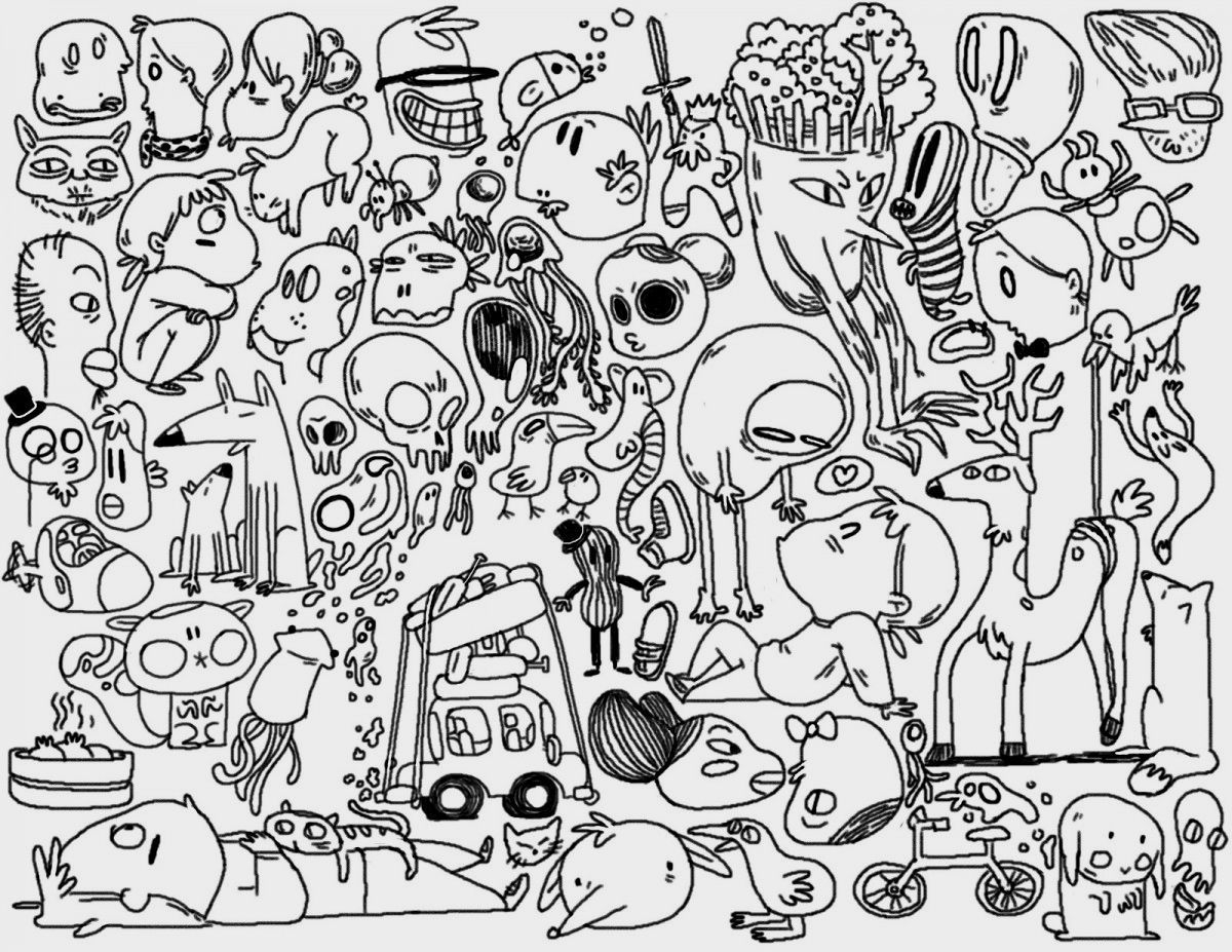 - Doodle Coloring Pages Doodle Coloring Pages Printable Clrgpages