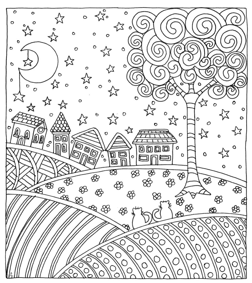 Downloadable Coloring Pages Wind Down Your Week With 3 Downloadable Coloring Pages Quarto