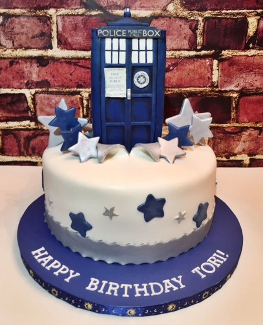Excellent Dr Who Birthday Cake Dr Who Tardis Cake Cakecentral Birijus Com Funny Birthday Cards Online Inifofree Goldxyz