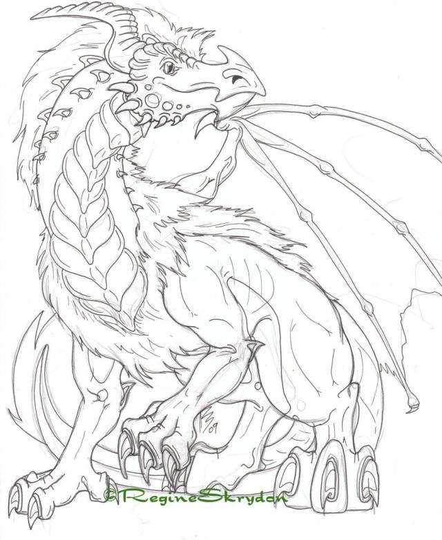 Dragon Coloring Pages For Adults 15 Awesome Adult Dragon Coloring Page Karen Coloring Page