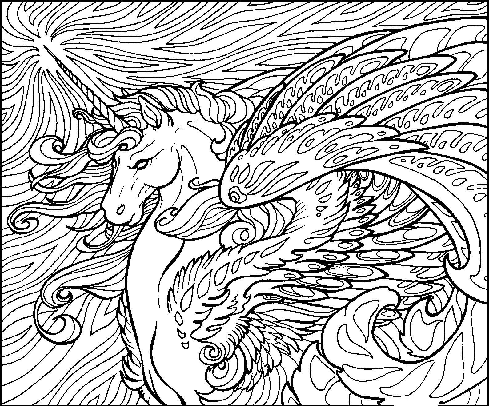 25+ Marvelous Photo of Dragon Coloring Pages For Adults - birijus.com