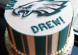Eagles Birthday Cake Eagles Birthday Cake Whipped Bakeshop 40th Birthday Party
