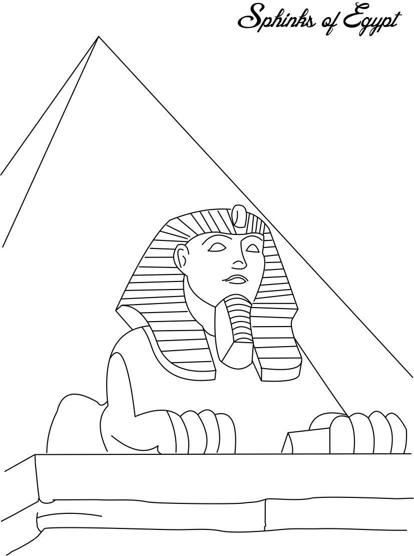 Egypt coloring pages | Free Coloring Pages | 1110x827