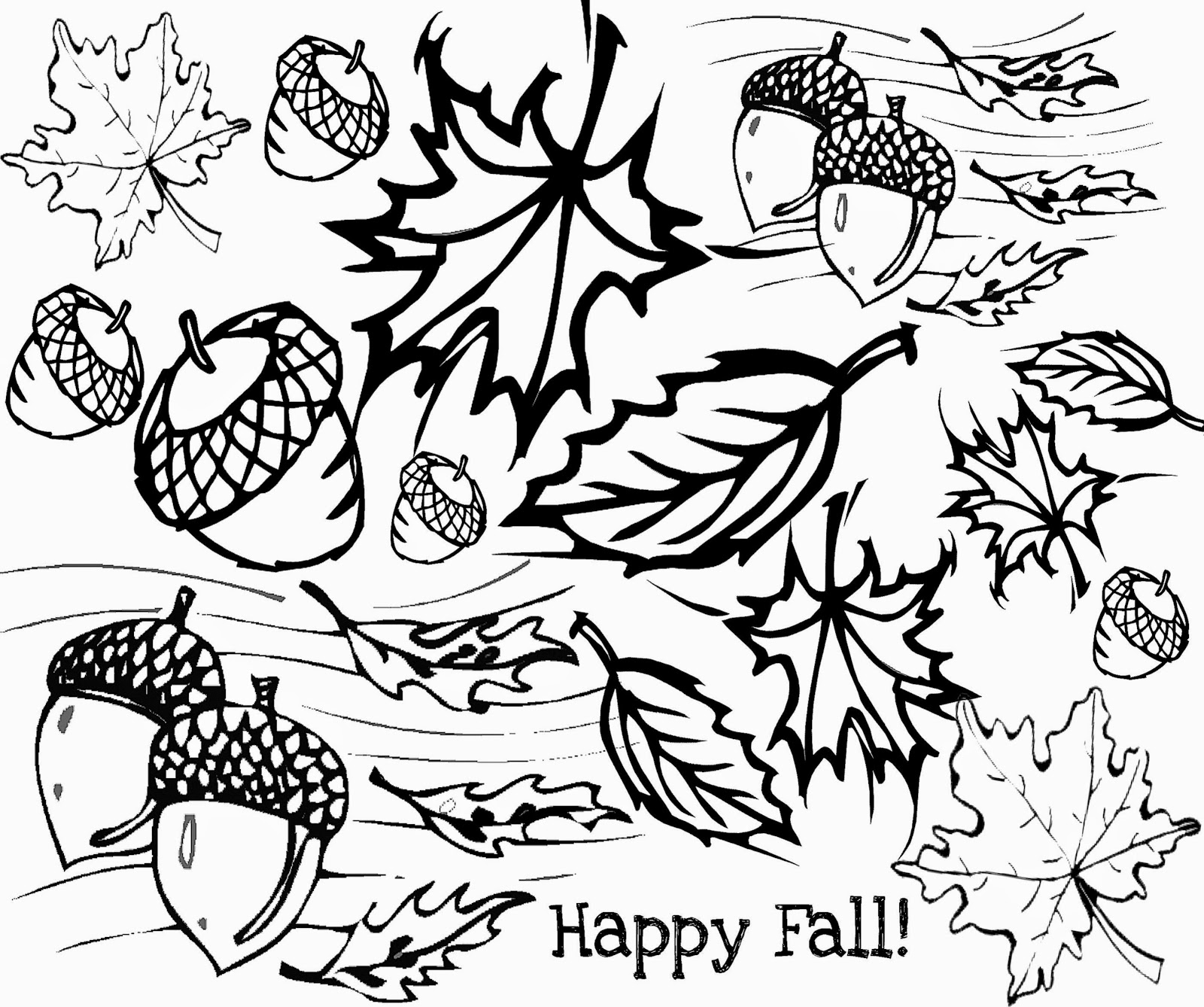 Free Printable Fall Coloring Pages for Kids - Best Coloring Pages ... | 1338x1600
