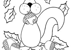 Images Of Printable Fall Coloring Pages For Kids