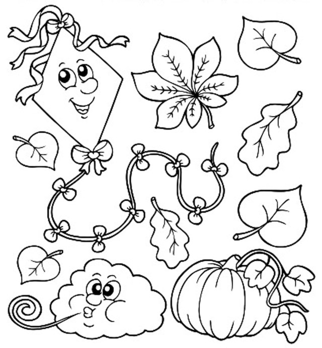 Fall Coloring Pages For Kids Free Printable Fall Coloring Pages Lezincnyc