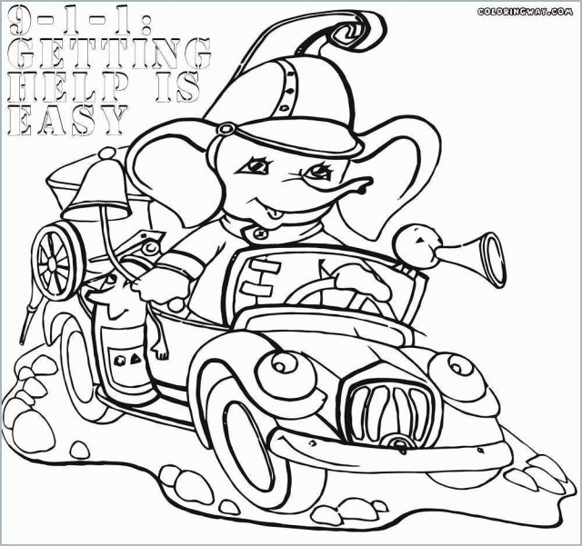 Excellent Photo Of Fire Safety Coloring Pages Birijus Com