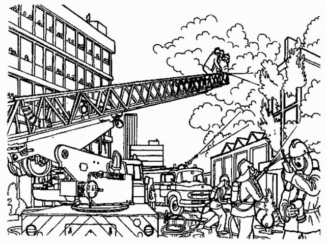 Firefighter Coloring Pages Firefighter Coloring Page With Fire Fighter Pages Coloring Pages