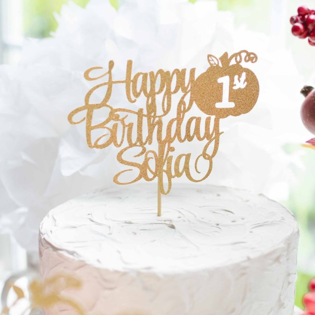 Remarkable 21 Beautiful Picture Of First Birthday Cake Toppers Birijus Com Funny Birthday Cards Online Alyptdamsfinfo