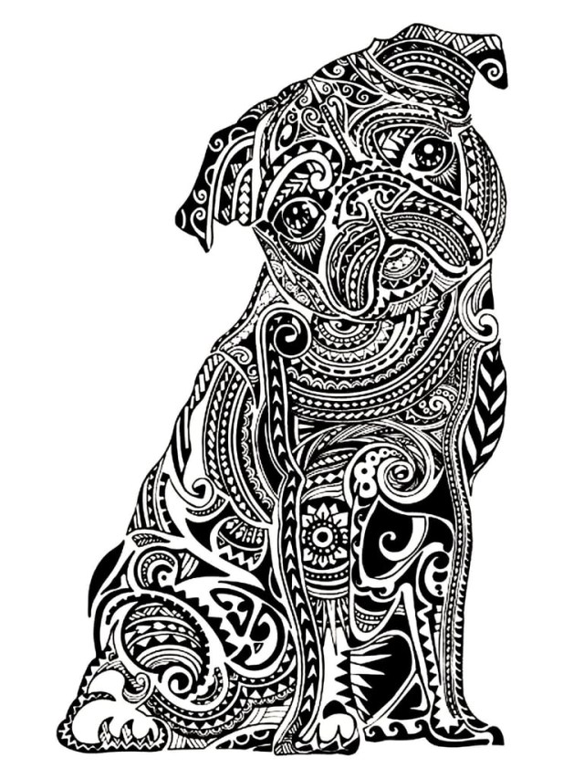 Free Coloring Pages For Adults Get The Coloring Page Pug Free Coloring Pages For Adults