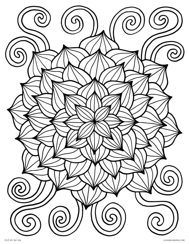 Free Coloring Pages For Adults To Print Coloring Pages