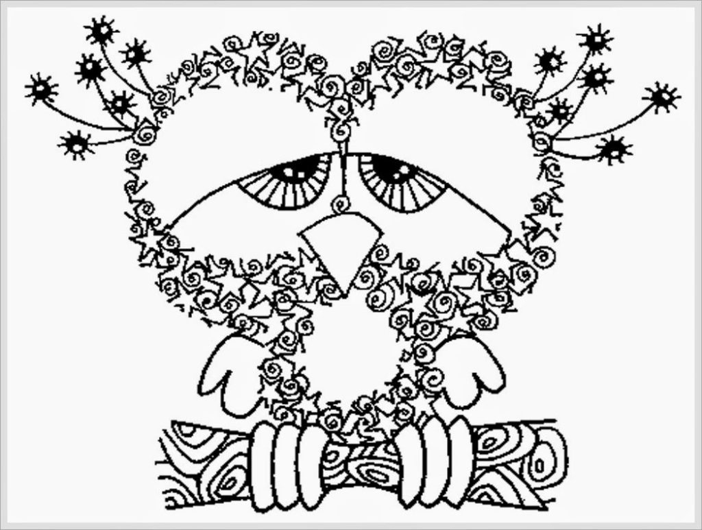 Free Coloring Pages For Adults To Print Free Printable ...