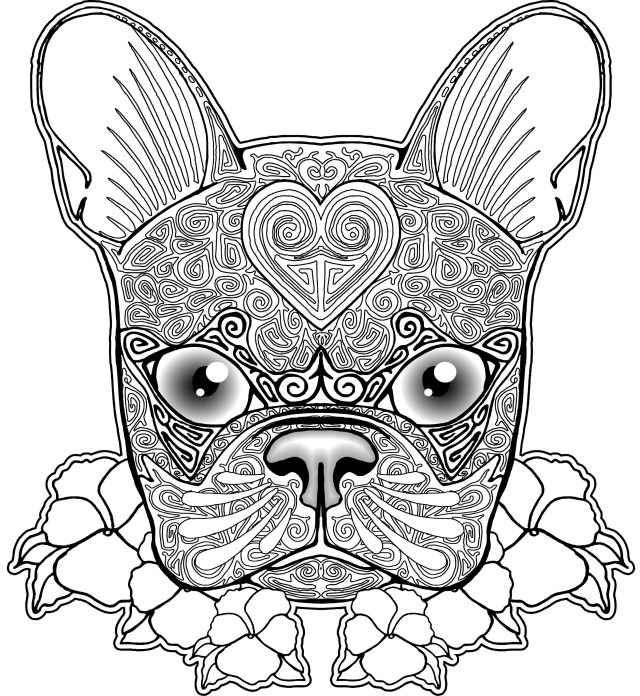Free Dog Coloring Pages Free Dog Coloring Pages At Getdrawings Free For Personal Use