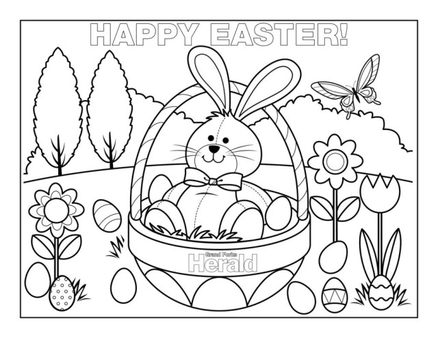 83 Best Easter Coloring Pages   Free Printable PDFs to Download   494x640