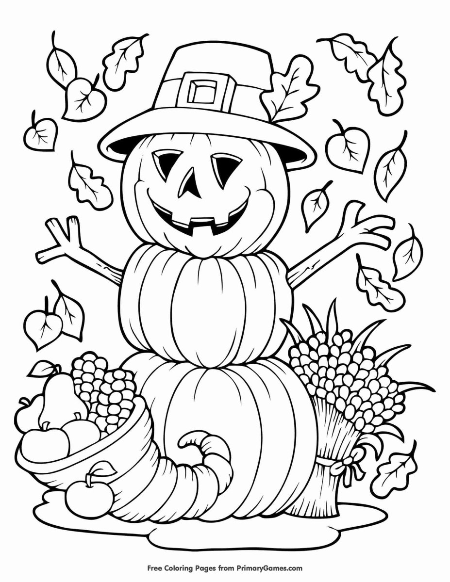 Free Fall Coloring Pages Free Autumn And Fall Coloring Pages