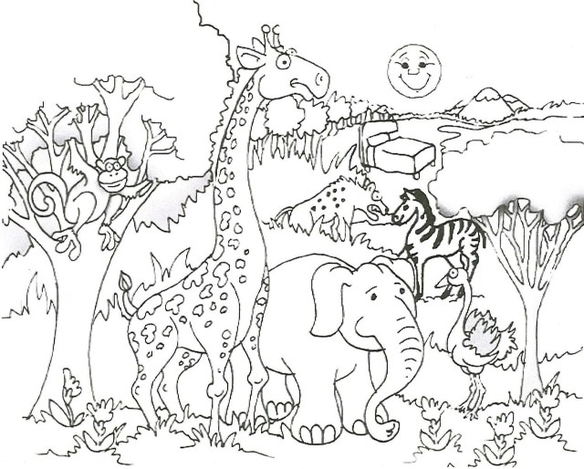 Free Printable Animal Coloring Pages Grassland Animals Coloring Pages Elegant Free Printable Giraffe For