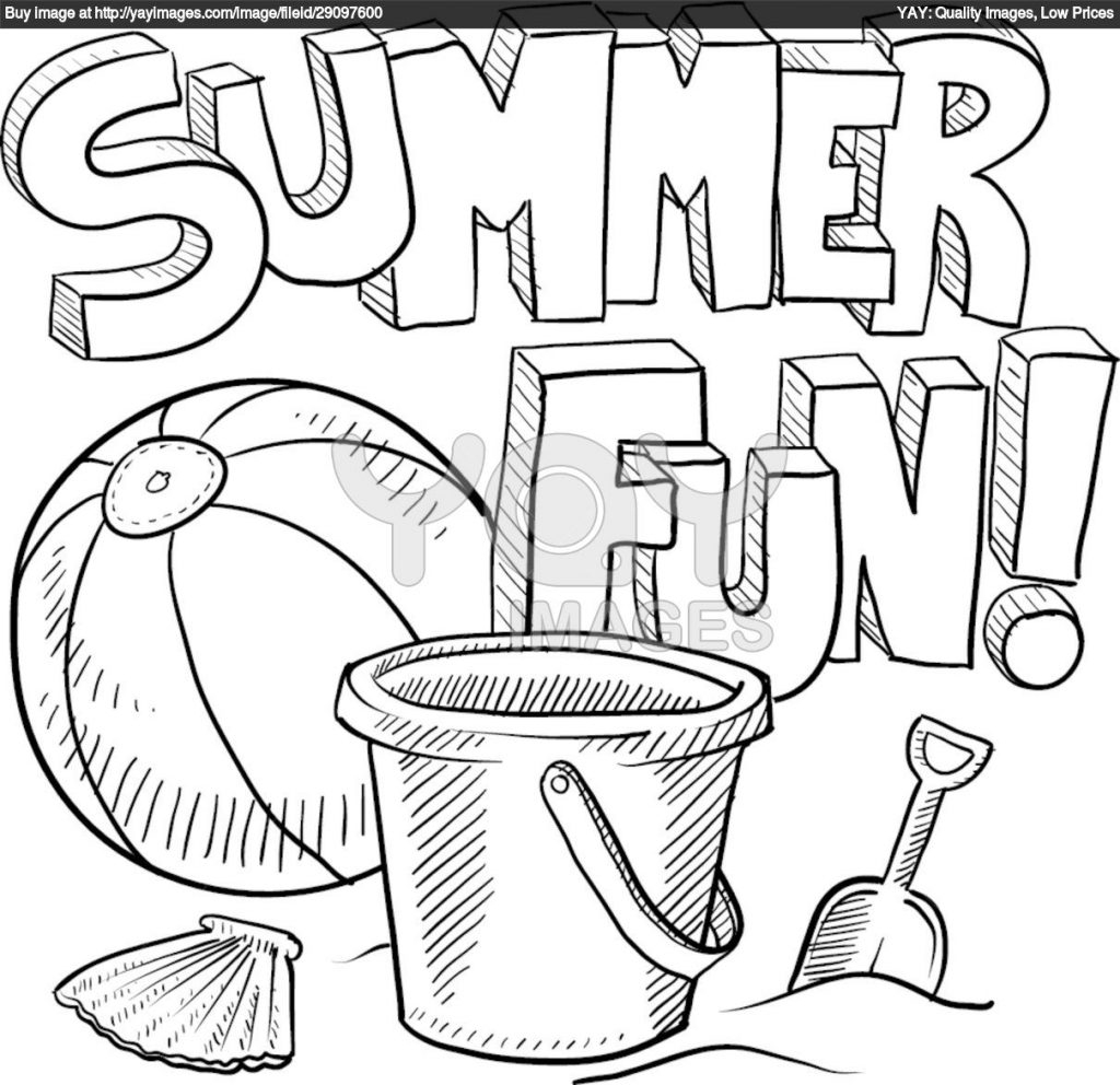 Free Summer Coloring Pages Coloring Page Free Printable ...
