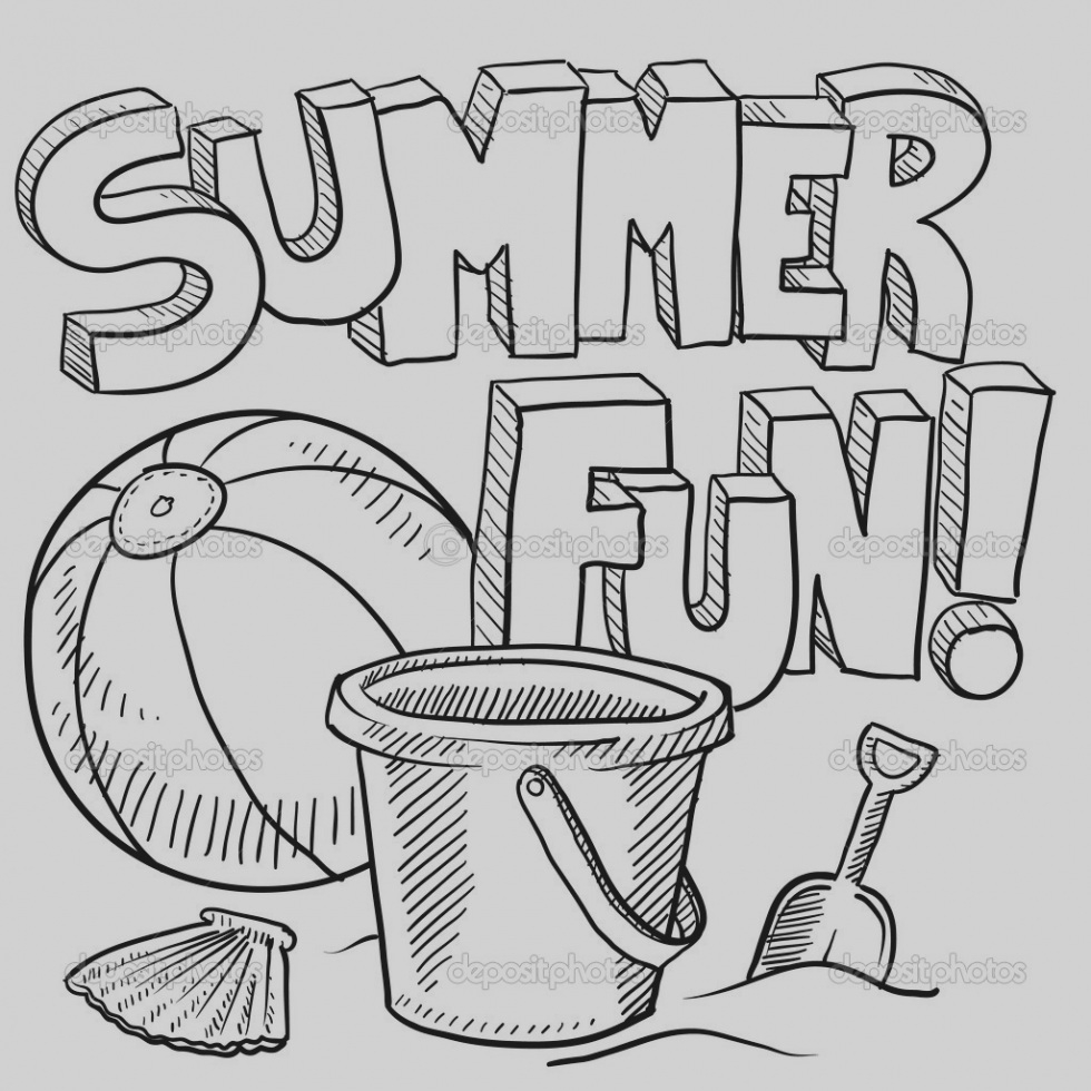 - 25+ Elegant Image Of Free Summer Coloring Pages - Birijus.com