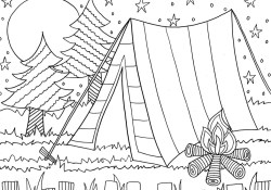 Free Summer Coloring Pages Summer Coloring Pages Doodle Art Alley